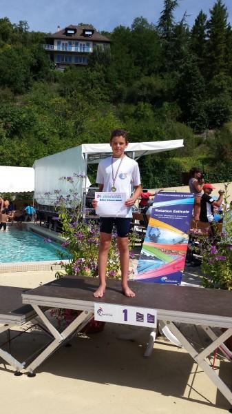 Quentin Vessie record 200 brasse